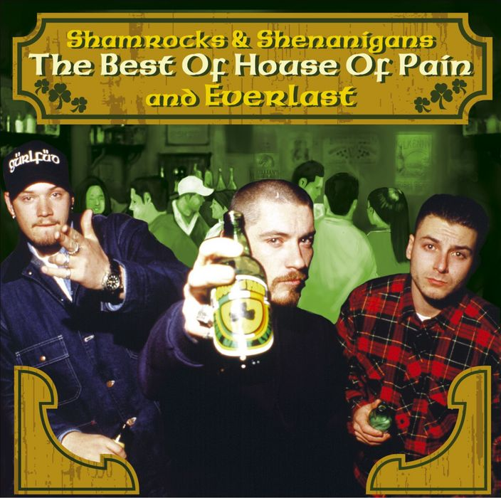 The Best of House Of Pain And Everlast: Shamrocks & Shenanigans Cover Art