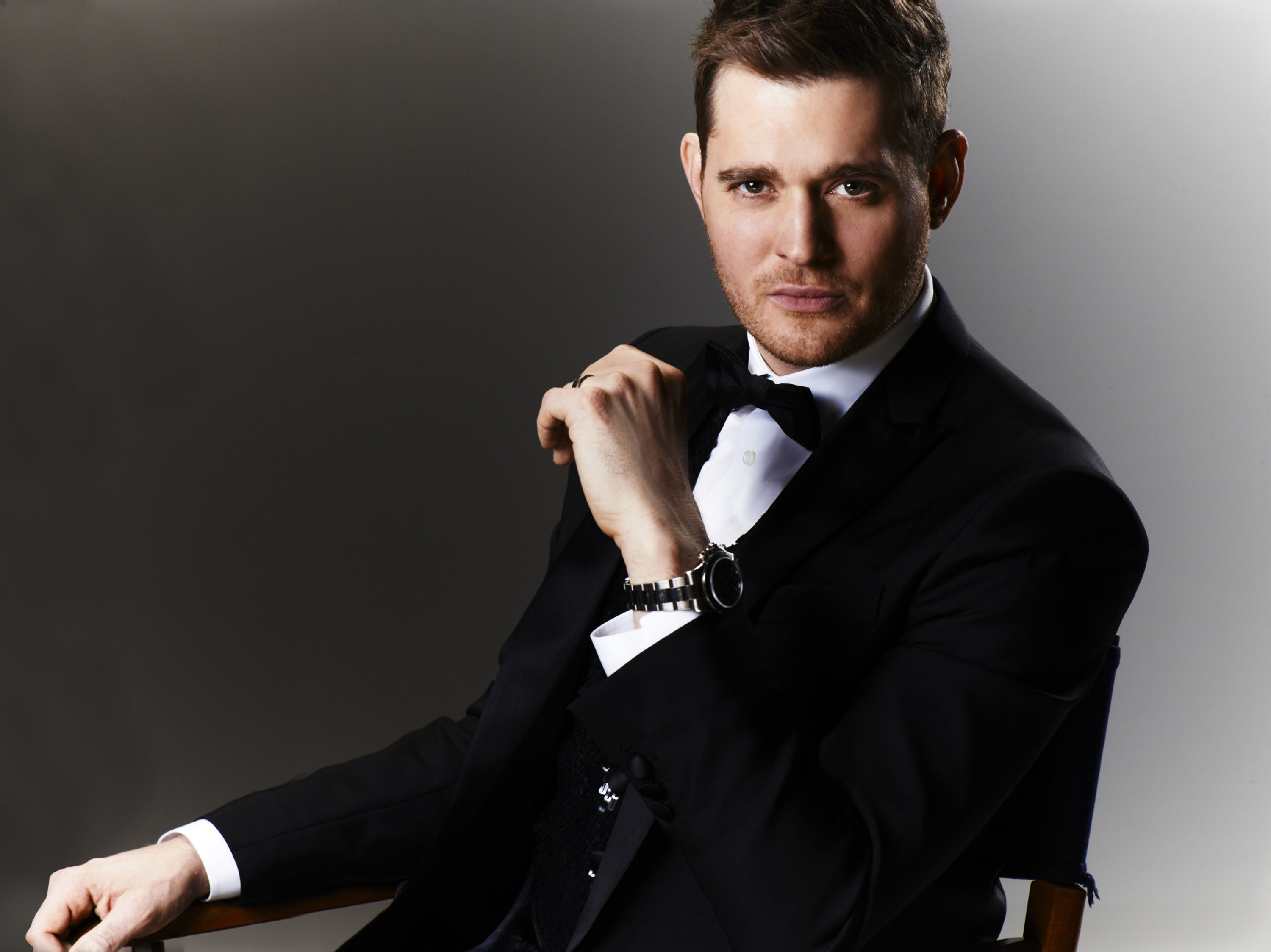 Michael Bublé press photo by Warwick Saint