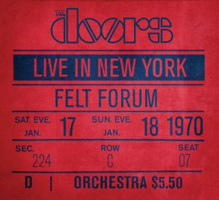 The Doors, Live In New York