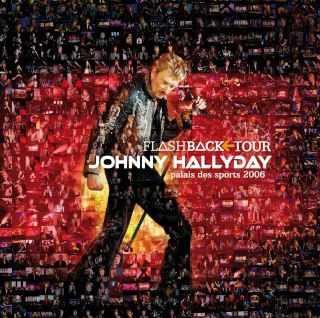 Johnny Hallyday -  Flashback Tour affiche